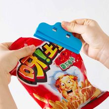1pcs Dried Milk Bag Sealed Clips Candy Food 10cm Waterproof Storage Package Sealing Clamp Bag Clips(China)