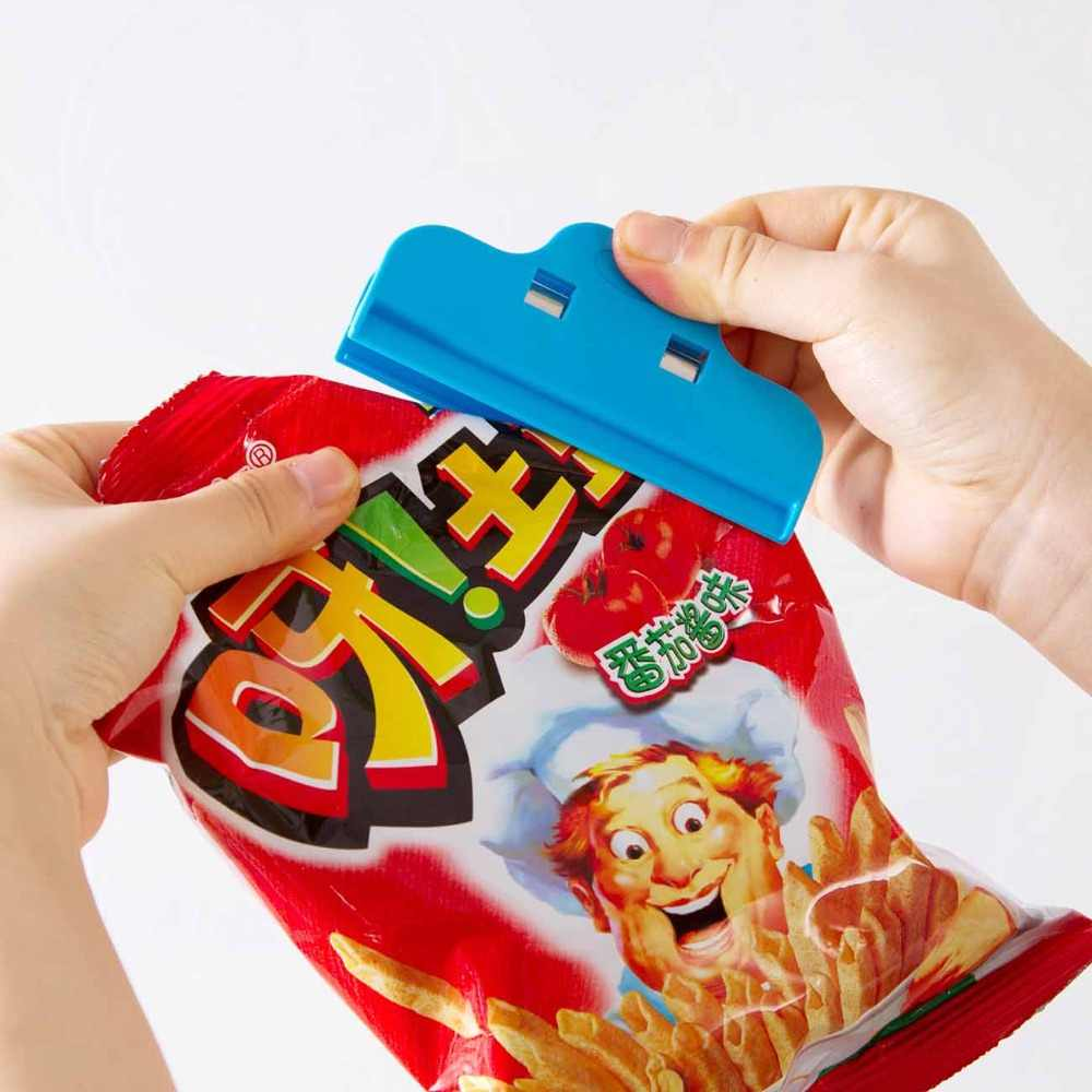 1pcs Dried Milk Bag Sealed Clips Candy Food 10cm Waterproof Storage Package Sealing Clamp Bag Clips