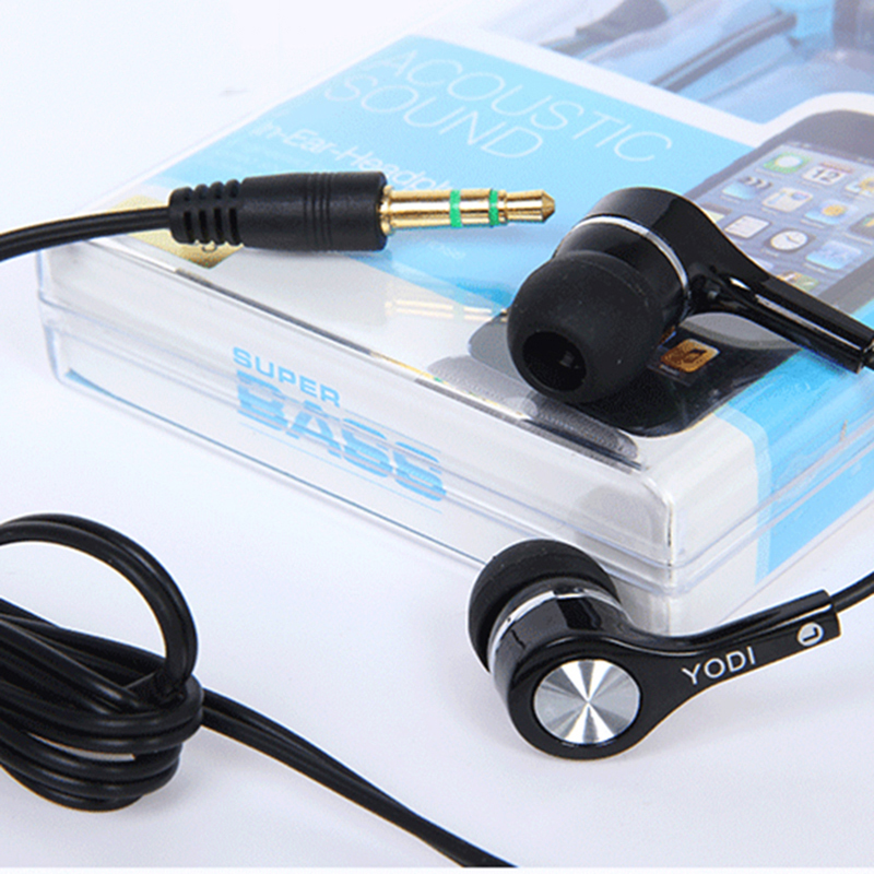 Купить Original Stereo Bass Earphone 3.5Mm In Ear Earphones Handsfree Headset For Mp3 Player Auricolari Ear Buds