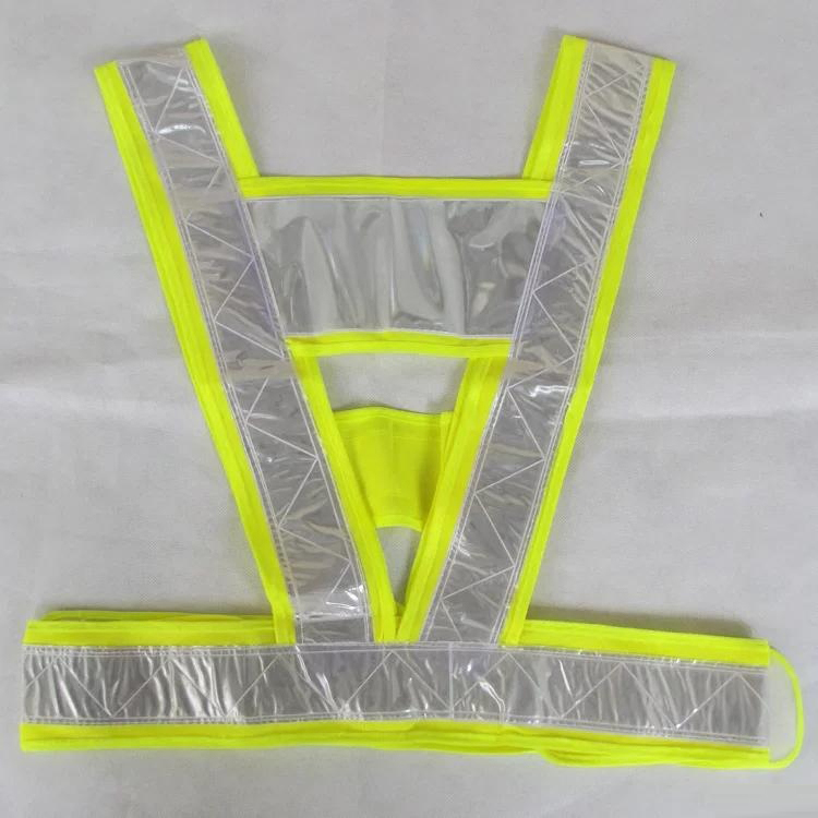 V-Shaped Reflective Safety Vest Traffic Safety Clothing High Visibility