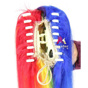 """Image 2 - Miss U Hair 26"""" 65cm 180g Black Red White Green Pink Long Straight Claw Jaw Ponytail Clip In On Hair Extension Accessories"""