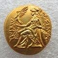 Александр III Великий 336-323 ДО Н. Э. золотые Драхмы Древнегреческий Монета копия монеты