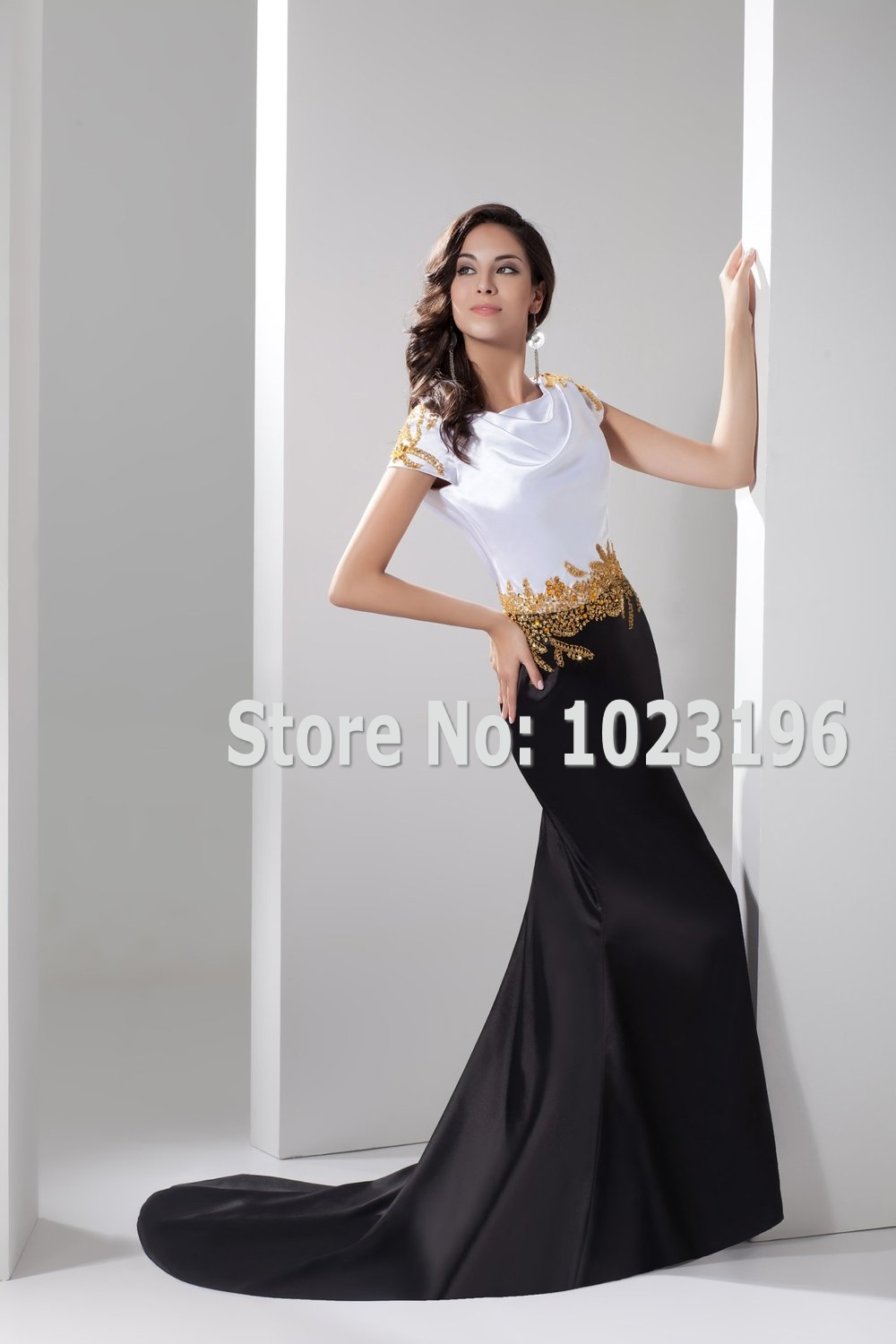 Military Ball Dresses Black and Gold