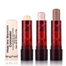 1pcs Maquiagem Base Make Up Foundation Hide Blemish Pores Face Highlighter Makeup Color Corrector Face Contour Concealer Stick