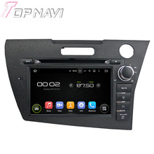 7″ Quad Core Android 5.1 Car GPS Navigation For Honda CRZ With Radio Multimedia Video DVD Player Mirror Link 16GB Flash