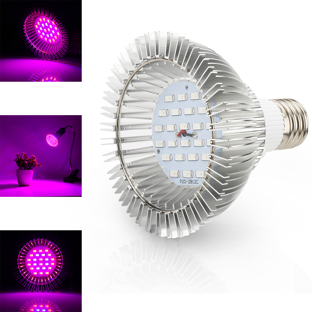 24W/36W/58W LED Grow Light Phytolamp Red+Blue Fitolamp Indoor Plant Lamp For Growth Bloom Flower Bulb Lighting 110V 220V