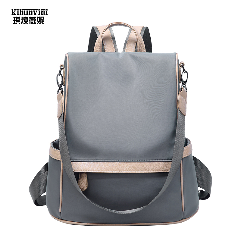 Sac à dos de luxe pour femmes sac à dos Anti-vol sacs à dos pour filles sac à dos design Weekender sac à dos solide Mochila Softback