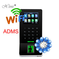 Hot Sale ZK F22 WIFI TCP/IP Biometric Fingerprint Access Control And Time Attendance With RFID Card Reader ADMS Function