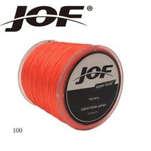 JOF 8 Strands 100M PE Braided Fishing Line Multifilament Fishing Line Wire White/Yellow/Blue/Green 13-200 LB
