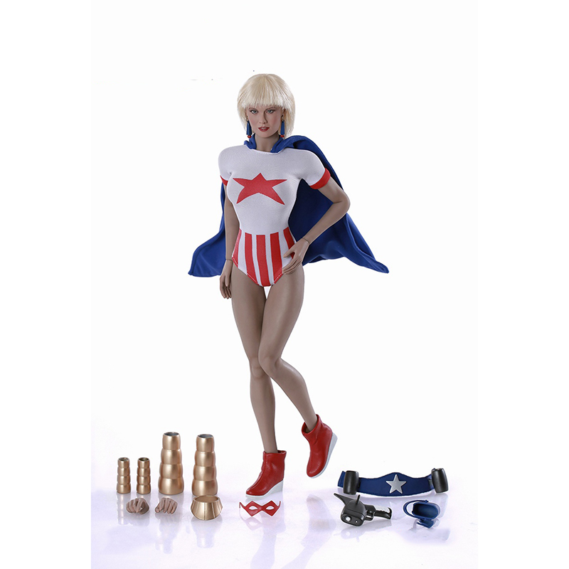 PL2014-74 Stormy Tempest 1/6 Scale Full Set Figure Sexy Superwoman Action Figure Collections Gifts Body Head and Accessories tempest