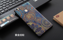 Для Xiaomi Mi Max Силиконовый Чехол Мягкий Задняя Крышка Для Xiaomi ми Макс Мягкая Защита Телефона Мешок 3D Рельефа Живопись Капа Оболочки