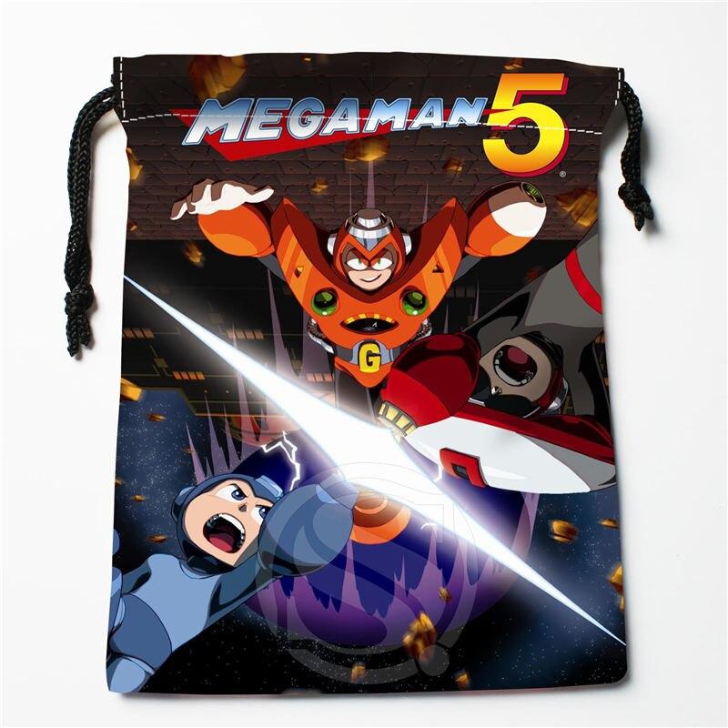 W-92 New Mega Man &p Custom Logo Printed  Receive Bag  Bag Compression Type Drawstring Bags Size 18X22cm E801wr92