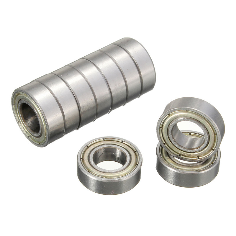 10pcs 688-2RS 688 Sealed Ball Bearing Miniature Bearings 8x16x5mm Shafts Durable and practical 10pcs 688zz double shielded ball bearings 8x16x5mm metal miniature ball bearing for harware accessories