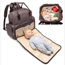 Ruilang Новый Для женщин будущая мама подарок с ребенок лежал Коврик рюкзак большой Ёмкость сумка