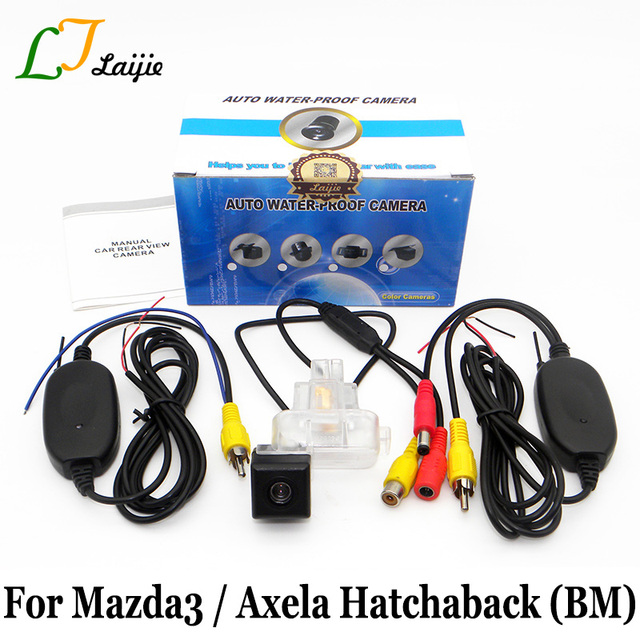 Laijie wireless auto rear view camera for mazda 3 mazda3 axela laijie wireless auto rear view camera for mazda 3 mazda3 axela hatchaback bm 20132017 asfbconference2016 Choice Image