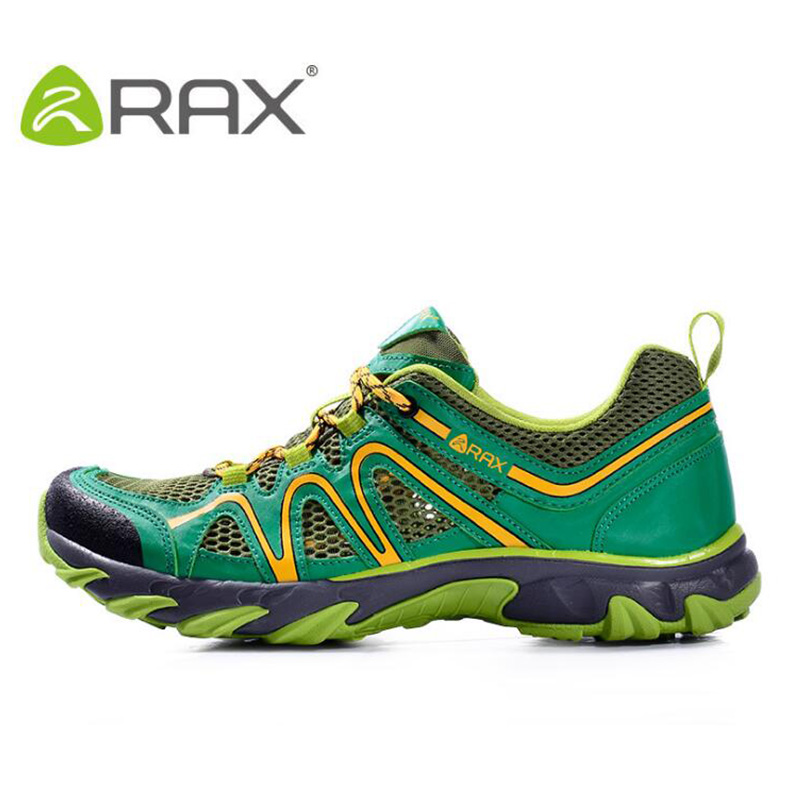 Rax Men Aqua Shoes Mesh Breathable Upstream Shoes Summer Outdoor Camping Hiking Shoes Cushion Sneakers Professional Aqua Shoes