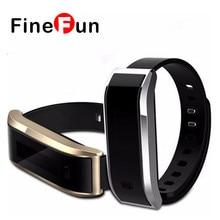 Finefun TW07 Смарт-часы умный Группа фитнес трекер Bluetooth 4.0 браслеты Водонепроницаемый спортивные часы Шагомер Браслет