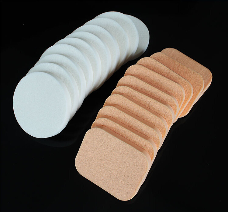 Sponge Cosmetic Puff 10 PCS Make Up Sponge Face Soft Women Lady Beauty Makeup Foundation Contour Facial Sponges Powder Puff