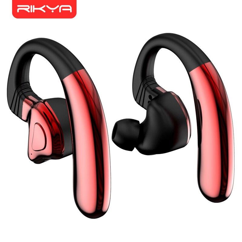 RIKYA Q9S TWS Bluetooth V5 0 Bluetooth Earphones Sport Hifi Headphones Wireless Headset Ear Hook for