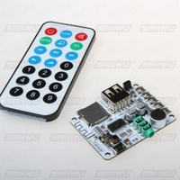 Wireless Bluetooth Audio Receiver Plate Modified Car Module Audio Power Amplifier Level Before Refitting