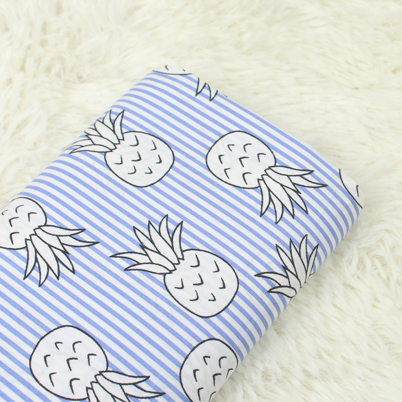 Printed Cotton Plain Fabric Skin Friendly Pure Cotton Fabric Cute Cartoon Pattern Printing DIY Patchwork Sewing Quilting Cloth in Fabric from Home Garden