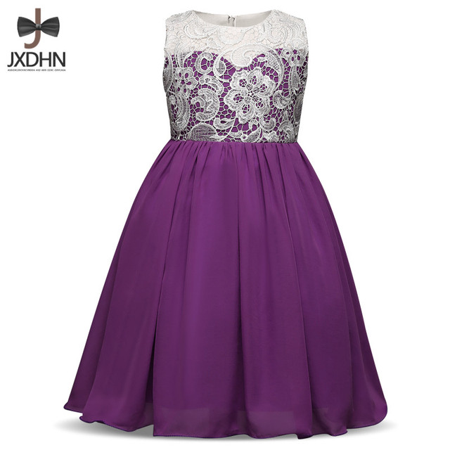 Lace Princess Girl Dress Long Prom Gown For Graduation Ceremony ...