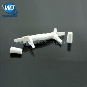 Image 5 - 100 pièces boîte de protection de câble de baisse boîte de Protection de fibres optiques petit tube rond thermorétractable pour protéger le plateau dépissure de fibres