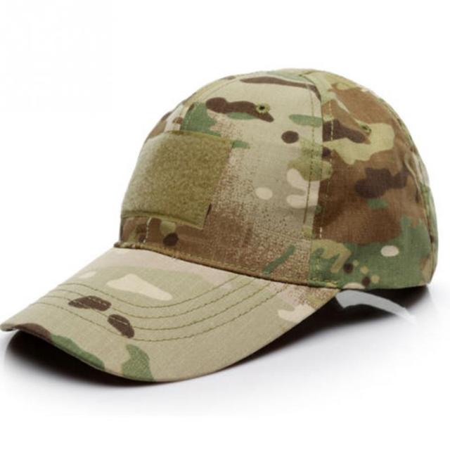 2018 new 6 Patterns Snapback Camouflage Tactical Hat Patch Army Tactical  Baseball Cap Unisex ACU CP Desert Camo Hats For Men 054a9469cdc