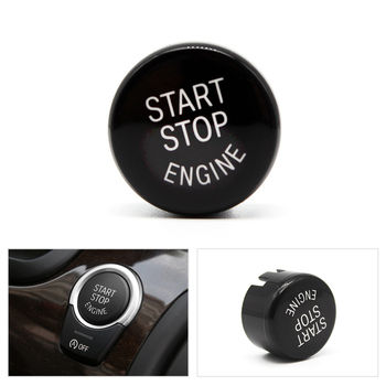 Car Engine Start Stop Switch Button Replace Cover with OFF button For BMW 1 3 5 7 F01 F20 F30 G30 X1 X3 X4 X5 X6 F15 F25 F26 F48 image