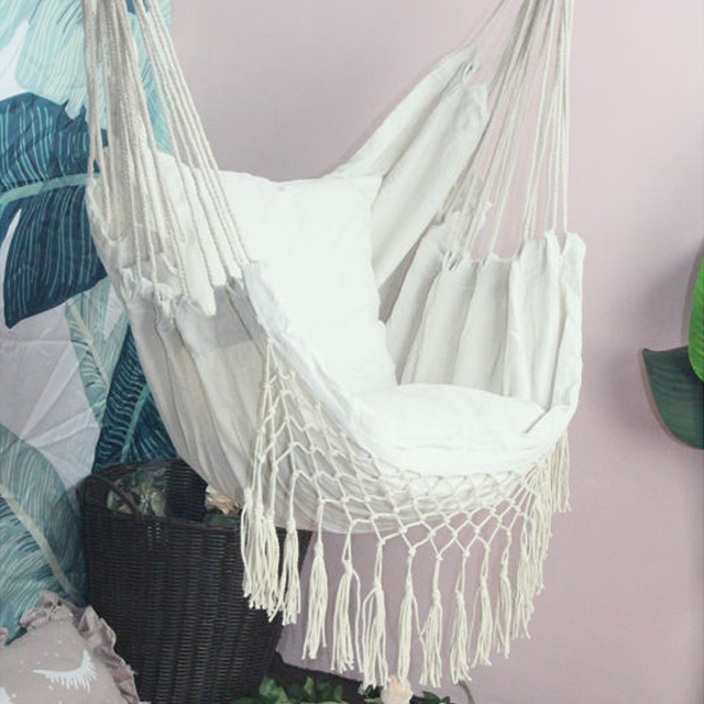 Hammock Chair with Cushions