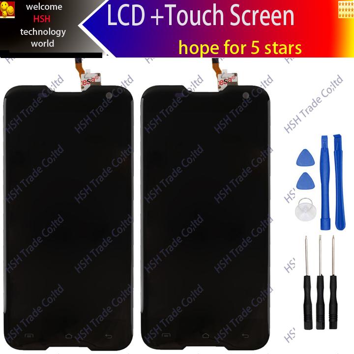 Prix pour STZZ 5.0 pouce 100% D'origine Blackview BV5000 LCD Display + Assemblée D'écran Tactile Pour Blackview BV5000 + outils
