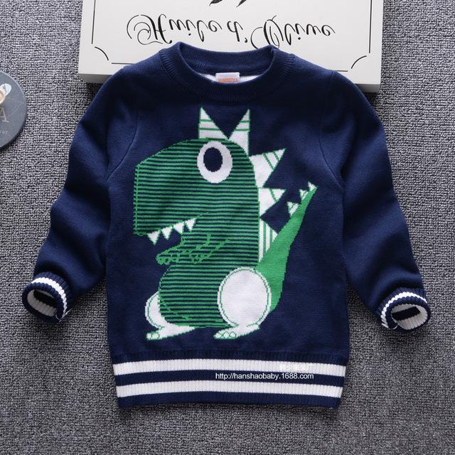2016 outono e inverno nova marca de moda crianças camisola de algodão de alta qualidade double-layer lazer camisola o-gola crianças topos