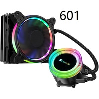 Jonsbo TW2 120 For CPU Water Cooling Radiator Cold Head Automatically Change Color LED FAN