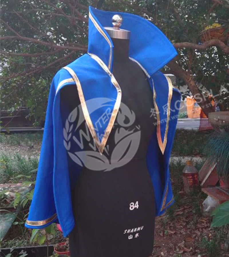 Fate//Prototype Arthur Pendragon Saber halloween Cosplay Costume Custom Made NN