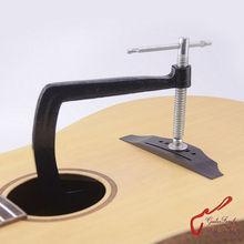 Cast Steel  Deep Throat Clamp For Folk Acoustic Guitar Bridge