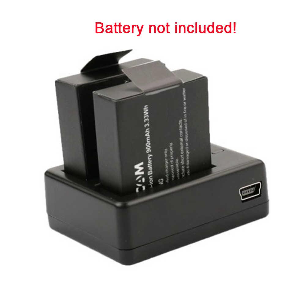 1 шт оригинальное зарядное устройство для аккумуляторов SJCAM Батарея двойной паз SJ4000 Bateria + двойной Зарядное устройство + кабель USB для SJ 4000 SJ5000 SJ6000
