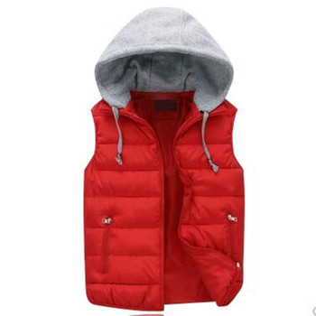2020 New Autumn And Winter Coat Cotton Vest Male Korean Couple Thickened Women Feather singleton Free Shipping image