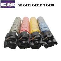 Amazing Print 1 PCS color copier toner cartridge Compatible for Ricoh Aficio SPC431 C431DN C430 C430DN 440 copier toner