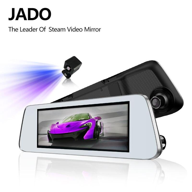 JADO D560 Miroir Dvr dash Caméra avtorégistrateur 6.86 Écran Full HD 1080 P Dvr de voiture enregistreur de bord dash cam