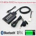 Автомобильный аудио Bluetooth AUX mp3 интерфейс Yatour для Lexus Toyota Camry Corolla Highlander RAV4 Vitz Avensis