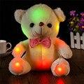 Juguetes de peluche de Colores LED de Luz de Flash Grandes Panda Muñeca Abrazo de Oso Led de Peluche de juguete Regalos de Los Niños