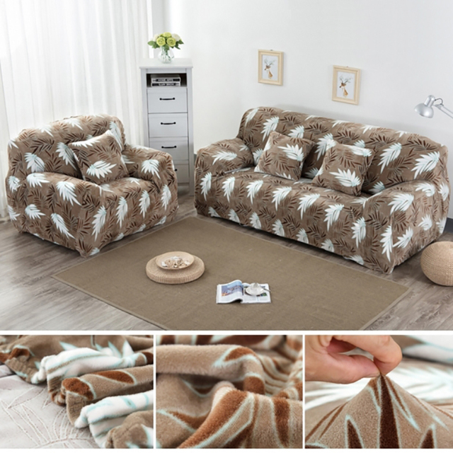 line Shop autumn winter warm plush sofa cover stylish home sofa