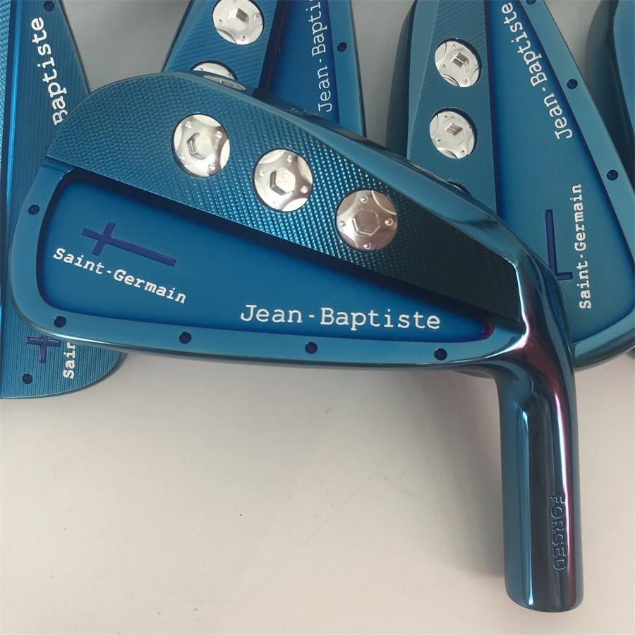 Playwell 2018 Jean Baptiste Saint Germain cavité bleu couleur de golf tête de fer forgé en acier au carbone CNC bois de fer de fer