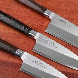 Image 2 - Mokitmanual facas de enchimento de peixe, facas de aço inoxidável deba de alto carbono da alemanha 1.4116 para enfilar sushi salmon