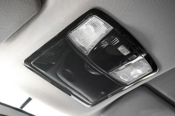 Полностью из углеродного волокна, карта свет Внутренняя окантовка, пригодный для 08 14 R35 GTR GT R35 CBA дБА карта противотуманных фар крышка лампа д... - 2