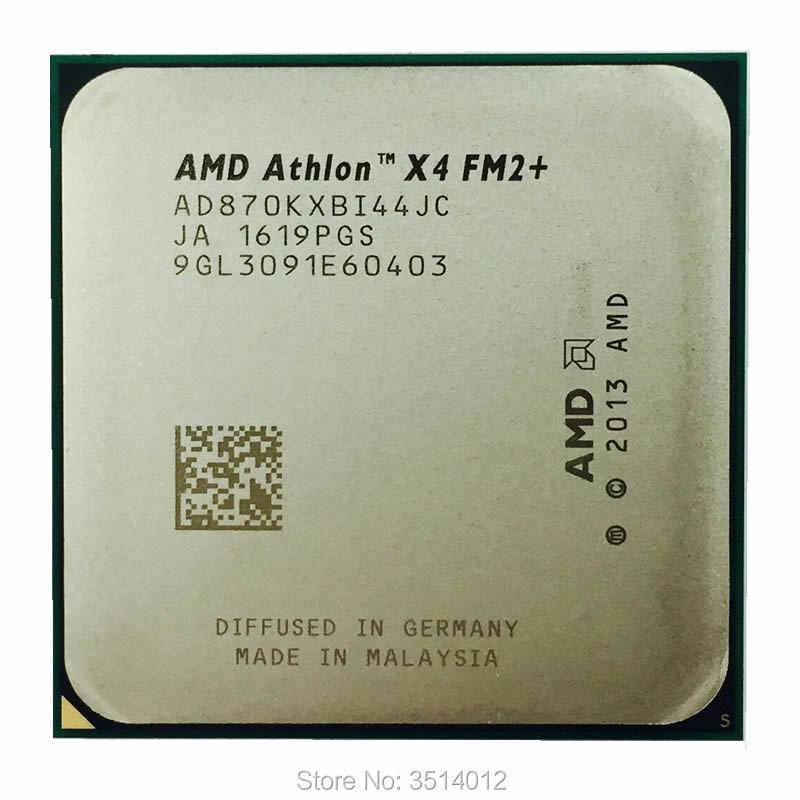 AMD Athlon X4 870K 3 9 GHz Quad Core CPU Processor AD870KXBI44JC Socket FM2
