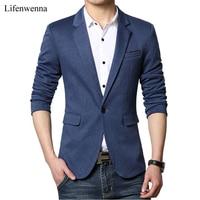 Hot Sale 2016 New Fashion Mens Casual Blazer Single Button Dress Blazer Jacket Men Slim Fit