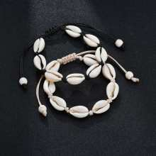 summer Handmade Jewelry Natural Seashell Bracelets for Women Fashion Shell Bracelets Women Accessories Beaded Strand Bracelet(China)