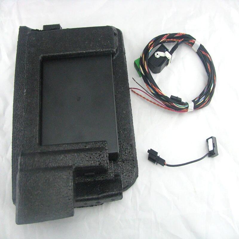 Автомобиль модуль Bluetooth + жгут штекер кабеля + микрофон для RCD510 RNS510 Fit Passat B6 Jetta MK6 Гольф MK5 6 1K8 035 730 D