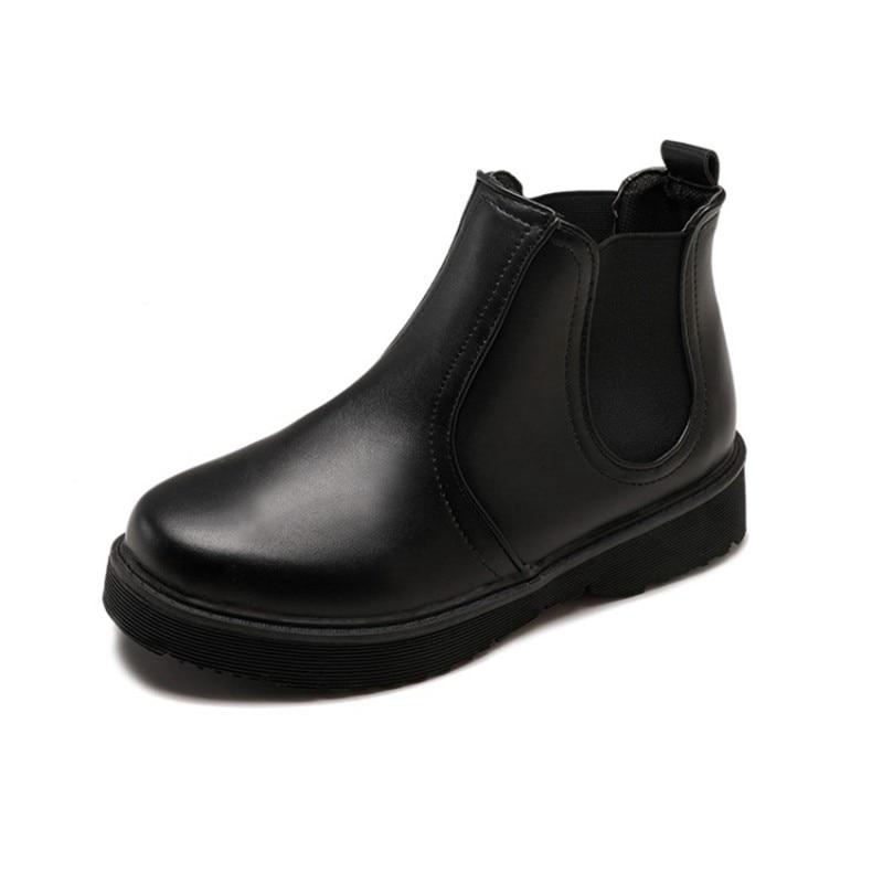 forme Cheville La Cuculus Pour En Plus Plate Sur Bottes 1409 Noir Femme Brun Femmes Plat Taille Chaussures Cuir Slip Confortable marron Pu Noir tq6wqv